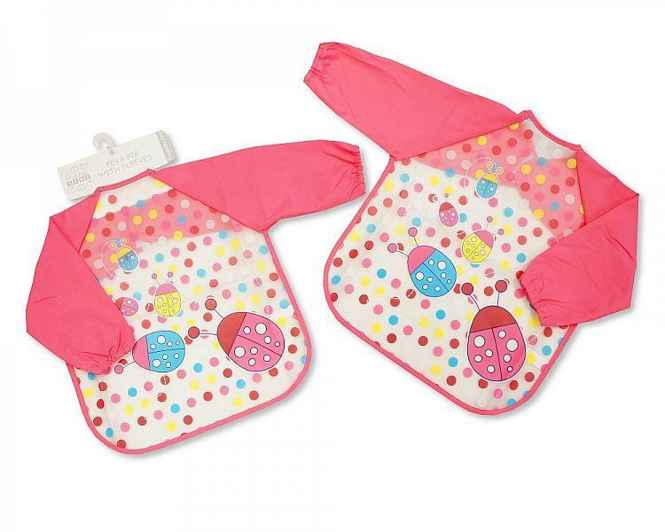 Nursery Time Bib With Sleeves BW104-817G