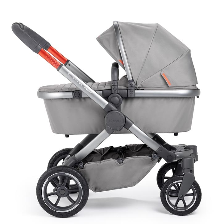 Icandy Peach Terrian Land Rover (Puchchair, carrycot, footmuff, bag, car seat adaptors, elevators)