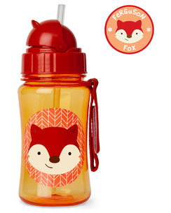 Skip Hop Zoo Straw Bottle Fox