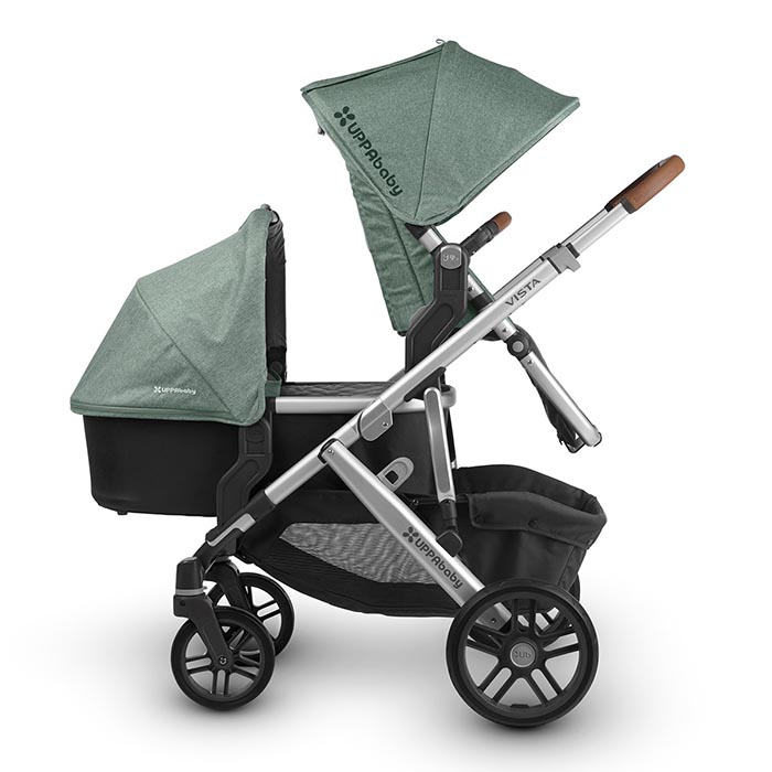 Double Buggy Uppababy Vista 2018 Toddler Newborn